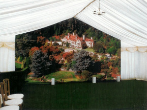 Marquee Back Drop