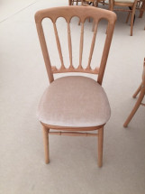 Beechwood Chair with Ivory Pad 3