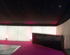 Black Bar with Pink Carpet