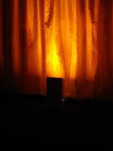 Flame Orange Up Light Filter
