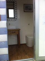 Inside Beach Hut Toilet