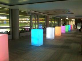 LED Poser Tables