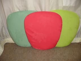 Mint Fushia Lime Green Pads
