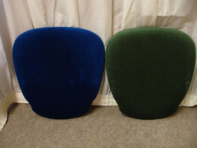 Royal Blue Forest Green Pads