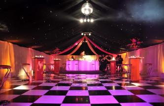Starlight Black White Floor