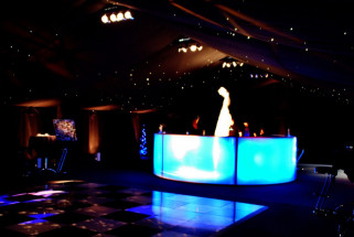 Starlight Ceiling and Blue Bar