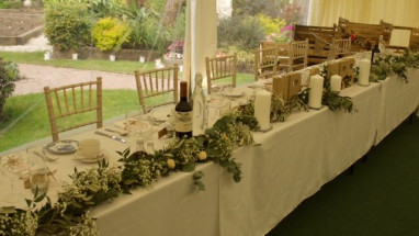 Top Table In Front of Panoramic Windows