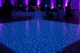 White LED Dance Floor 2