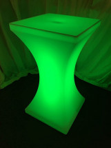 LED Poseur Table Green