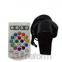 LED Poseur Table Remote Control