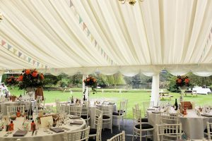 Marquee at Busbridge Lakes