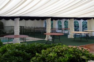 Marquee Over Pool