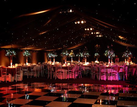 Dancefloor for Corporate Marquee Party