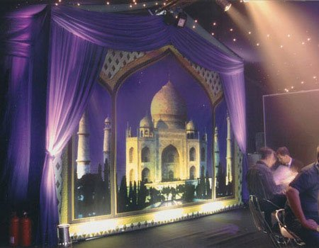 Corporate Marquee Taj Mahal Interior