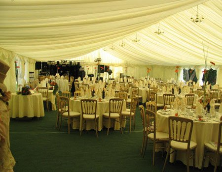 Corporate Marquee Tables