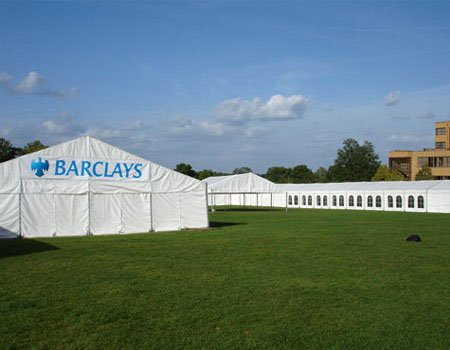 Corporate Marquee Barclays Exterior