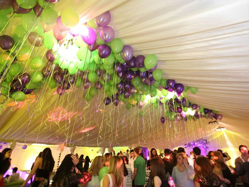 Themed marquee hire