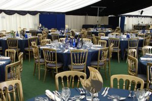 Party Marquee Tables and Chairs