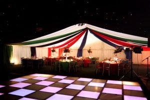 Party Marquee Dancefloor