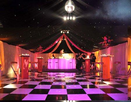 Themed Marquee Dancefloor