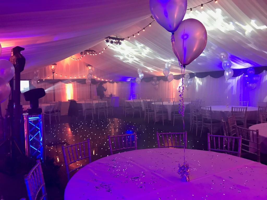 Themed Marquee Baloons and Party