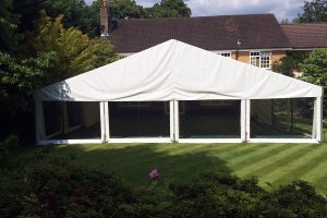 Marquee with Panoramic Windows
