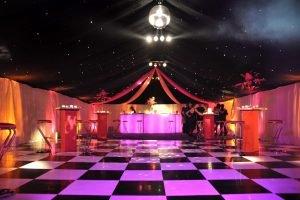 Starlight Black and White Dance Floor
