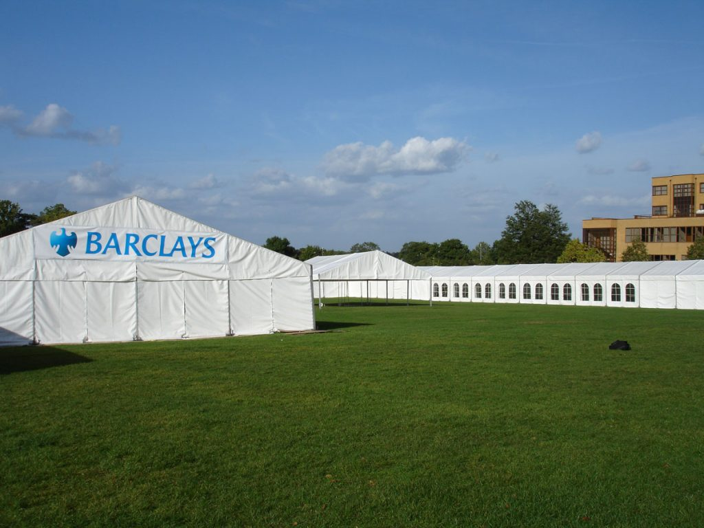 Surrey University Marquee