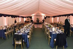 Greenfield School Ball in Marquee