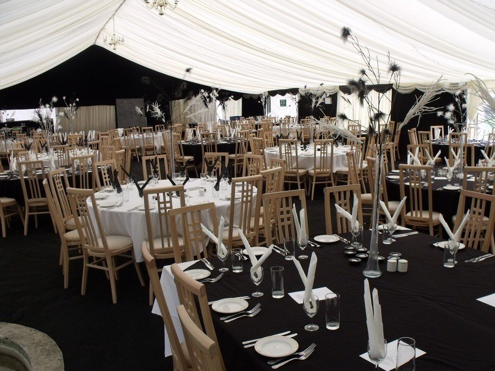 Corporate marquee function